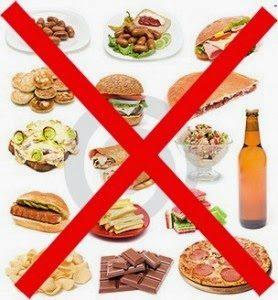 que comidas evitar en la gastritis